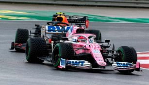 Checo Pérez vivió dramático final para lograr podio en Gran Premio de Turquía