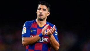 Luis Suárez con el Barcelona