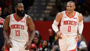 NBA: Rockets se quedaría sin James Harden y Russell Westrbook