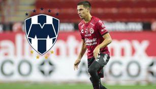 Mauro Lainez en partido con Xolos