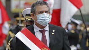 Manuel Merino como presidente de Perú