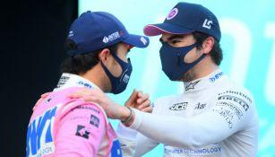 Checo Pérez: Coequipero felicitó al mexicano por su podio en el GP de Turquía