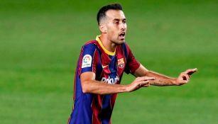 Barcelona: Sergio Busquets sufre esguince en la rodilla y será baja hasta tres semanas