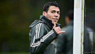 Héctor Moreno en entrenamiento con el Tri