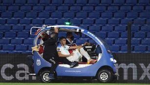Exequiel Palacios tras lesión ante Paraguay