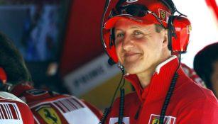 Schumacher previo a una carrera