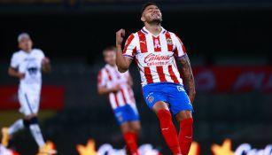 Chivas: Alexis Vega se lesionó el tobillo con el Tricolor Sub 23 y sería baja ante Necaxa