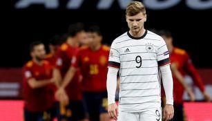 Timo Werner en goleada ante España