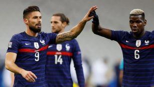 Oliver Giroud marcó dos goles para Francia