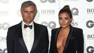 José Mourinho y Matilde en un evento