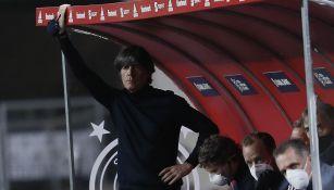 Joachim Löw en el partido contra España
