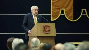 Enrique Graue, rector de la UNAM en conferencia de prensa