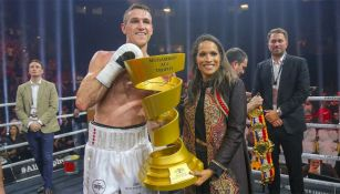 Callum Smith tras la Final de World Boxing Super Series