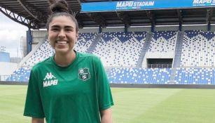 Estefanía Fuentes, jugadora del Sassuolo