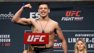 Brandon Moreno previo a una pelea
