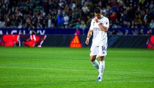 Javier Hernández con Galaxy