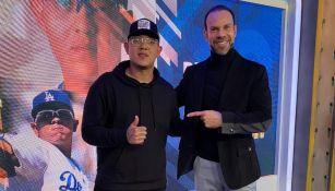 Zague junto a Julio Urías en TV Azteca
