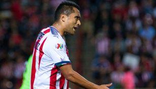 Aris Hernández en su paso por Chivas