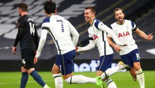 Premier League: Tottenham derrotó al Manchester City y es líder momentáneo