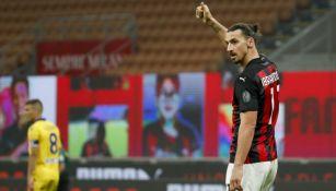 Zlatan Ibrahimovic, jugador del Milan