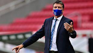 Cabecita Rodríguez se lamenta tras derrota de Cruz Azul