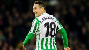 Andrés Guardado: Convocado por el Betis para duelo ante Athletic de Bilbao