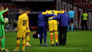 Koeman sobre la baja de Piqué: 'Es dificilísimo, pero hay que aceptarlo'