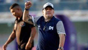Diego Armando Maradona como director técnico