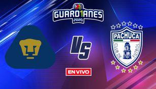 EN VIVO Y EN DIRECTO: Pumas vs Pachuca Guardianes 2020 CF Vuelta