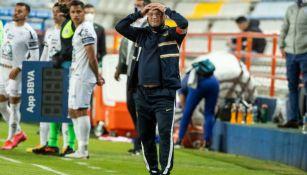 Andrés Lillini, DT de Pumas, ante Pachuca