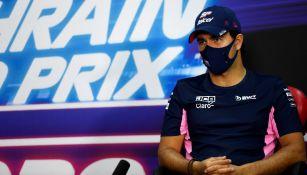 Checo Pérez: El mexicano partirá desde la quinta posición en el GP de Bahréin