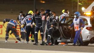 Grosjean tras terrible accidente en el GP de Baréin