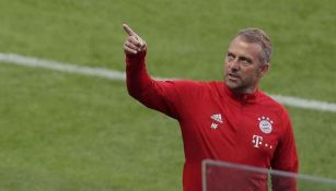 Hansi Flick, técnico del Bayern