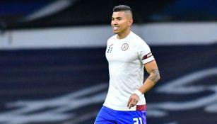 Orbelín Pineda previo al Cruz Azul vs Pumas