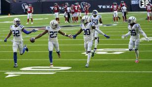 Colts en festejo de TD