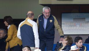 Pumas: Enrique Graue, rector de la UNAM, visitó al equipo previo a la Final