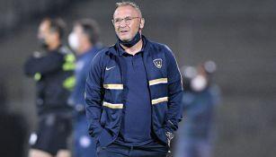 Andrés Lillini, técnico de Pumas