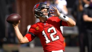 Tom Brady en el juego con Tampa Bay