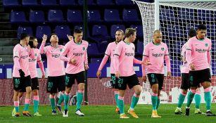 Barcelona: Derrotó al Valladolid y recupera posiciones en la LaLiga