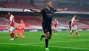 Copa de la Liga: Manchester City goleó al Arsenal en Cuartos de Final