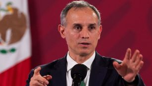 López Gatell, en conferencia de prensa