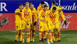 Barcelona derrotó al Huesca