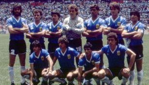 Argentina previo a Cuartos vs Inglaterra en México 86