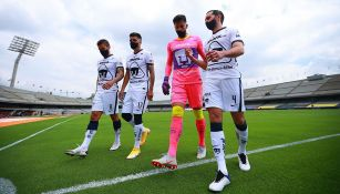 Alfredo Talavera: 'En Pumas podemos rolar el gafete de capitán'