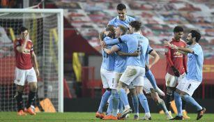 Carabao Cup: Manchester City eliminó al United y se instaló en su cuarta Final consecutiva