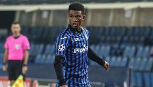 Amad Diallo en un partido con el Atalanta