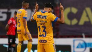 Diego Reyes, previo a un juego de la Liga MX
