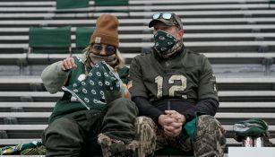 Afición en Lambeau Field para el juego de campeonato de la NFC