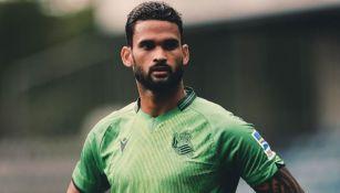 Willian José como jugador de la Real Sociedad