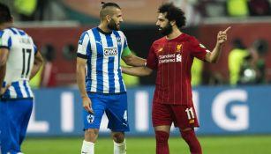 Nico Sánchez y Mohamed Salah en el Mundial de Clubes